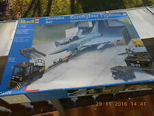 Revell 04376 Diorama Set Eurofighter Typhoon Shelter Ground Support Equip 1:72