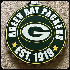 "Green Bay Packers NFL Logotipo Bottle Top 13.5"" Colgante de Decoración de pared Arte"