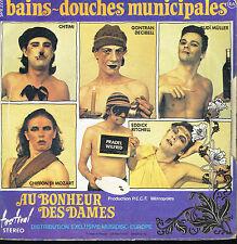 """45T 7"""": Au Bonheur des Dames: bains-douches municipales. festival. A13"""