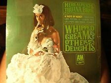 HERB ALPERT Whipped Cream orig 1965 popLP with iconic cheesecake cover in shrink