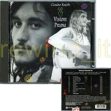 """CLAUDIO ROCCHI """"VISIONI PRIMA"""" RARO CD 1997 - ITALIAN PROG"""