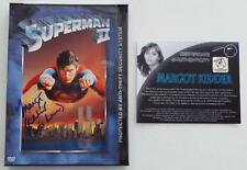 "NEW SIGNED  In Person  MARGOT KIDDER  ""Lois Lane""  SUPERMAN II   DVD With COA"
