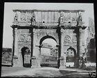 Glass Magic lantern slide ARCH OF CONSTANTINE ROME C1900 ITALY ROMANS ROMA
