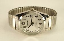 CLEAN Sharp Quartz Watch Easy to Read Dial New Battery Runs