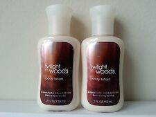 Bath & Body Works TWILIGHT WOODS Body Lotion (x2) - 2 fl oz each - NEW