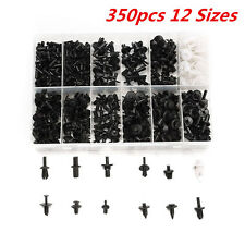 Platstic 350pcs 12 Sizes Car Push Pin Rivet Trim Clip Panel Moulding Assortments
