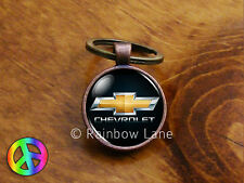 Handmade Chevrolet Chevy Car Keychain Key Chain Case Key Ring Accessories Gift