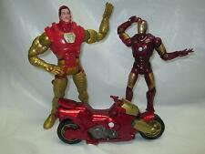 MARVEL Iron Man ThorBuster Armor ~ 2 Action Figures & 1 Vehicle Lot