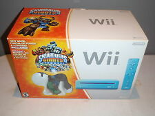 SKYLANDERS GIANTS EDITION BLUE WII SYSTEM BOXED