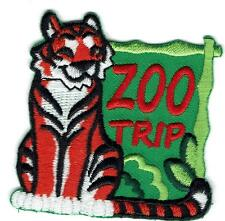 Girl Boy Cub ZOO TRIP Tiger Fun Patches Crests Badges SCOUT GUIDE Visit Tour Day