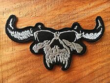 DANZIG Sew Iron On Patch Rock Band Logo Badge Heavy Metal Music Embroidered