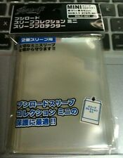 Bushiroad Sleeve Mini Sleeve Protector Oversleeve Guard CLEAR (BSLC-001/006)