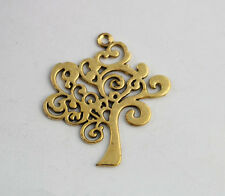 10PCS Antiqued Gold TREE OF LIFE Charm Pendants A15998G