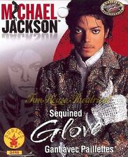 Michael Jackson Officially Licensed Sequined Glove Costume Accessory 8488
