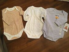 NWT Rene Rofe Baby Onesis,  Set of 3, Size 6-9 months