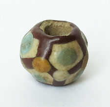 Rare Warring States Chinese Faience Bead
