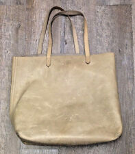 Madewell Brown Tan Or Camel Leather Tote Bag Large