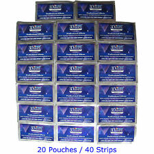 Crest3D Whitestrips Professional Effects Teeth Whitening 20 Pouches 40 Strips US