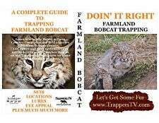 BOBCAT TRAPPING DVD-HOW TO TRAP FARMLAND BOBCAT