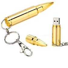 64GB Metal Bullet USB 2.0 Flash Pen drive Memory Stick Thumb Storage U Disk HYSG