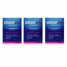 Snoreeze Snoring Relief Nasal Strips Large 10 Strips - 3 Pack