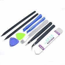 10 in 1 Repair Opening Pry Tools Set Kit Spudger Tweezer For Mobile Phone iPhone