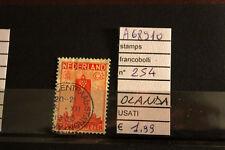 STAMPS FRANCOBOLLI OLANDA USATI N. 254 (A68910)