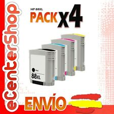 4 Cartuchos de Tinta NON-OEM HP 88XL - Officejet Pro L7590