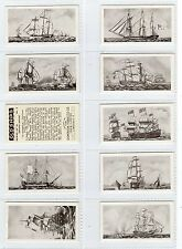 Full Set, Dominion Tobacco, Old Ships, 2nd 1935 EX (Gy156-159)