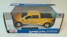 MAISTO 31900 FORD MIGHTY F-350 PICK UP TRUCK 1/31 DIECAST YELLOW - FREE SHIPPING