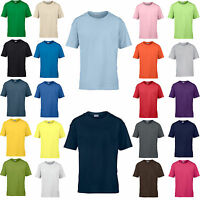 Gildan Softstyle Youth T-Shirt Kind XS S M L XL  (A) Kinder Jungen Mädchen