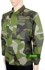 SWEDEN SWEDISH ARMY COMBAT JACKET in M90 CAMO 40 INCH CHEST