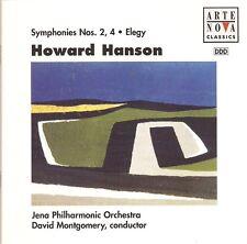 Hanson – Symphonies Nos. 2 & 4 • Elegy