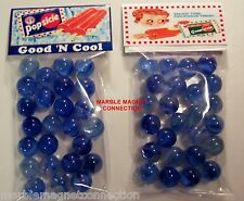 2 BAGS OF POPSICLE / CREAMSICLE ICE CREAM TREATS ADVERTISING PROMO MARBLES