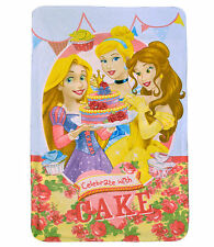 Disney Princess 'Pastel' Panel Manta Polar Regalo Nuevo
