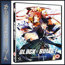 BLACK BULLET - COMPLETE SEASON COLLECTION *BRAND NEW DVD***