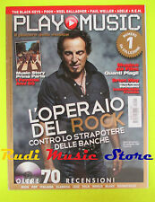 rivista PLAY MUSIC 1/2012 Bruce Springsteen Brian May Pooh Balck Keys Adele Nocd