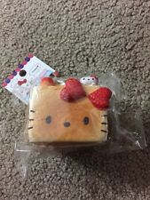 SANRIO HELLO KITTY SQUISHY LOVELY SWEETS SERIES VANILLA BRICK TOAST CHAIN NIP