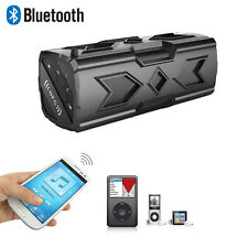 Wasserdicht Bluetooth NFC Speaker Lautspr USB 3600mAh Power Für Handys Tablet