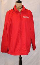 Port Authority Diablo Men's Jacket Red Stowaway Hood J-701 XL Lighweight