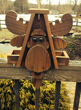 "Rustic Amish Crafted ""Moose Look"" Bird Feeder - Lancaster Cnty - PA"