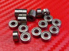 "10pc R3ZZ (3/16"" X 1/2"" X 0.1960"") Metric Shielded Ball Bearing Bearings R3z"