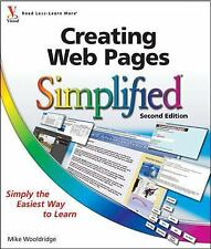 Simplified: Creating Web Pages Simplified 33 by Mike Wooldridge and Brianna...