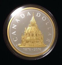CANADA 2016 Library of Parliament Renewed Silver Dollar 2oz Masters Club Coin