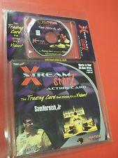Extremely Rare Pennzoil Sam Hornish jr Xstream Starz Action card with pc CD