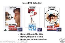 Honey I Shrunk The Kids Blew Up We Ourselves Trilogy DVD PART 1 2 3 Movie Film