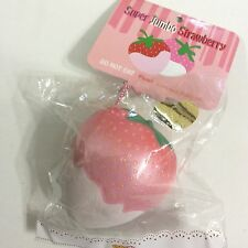 Limited Edition Pearl Strawberry Ibloom Puni Mari Ibloom Squishy Cellphone Strap