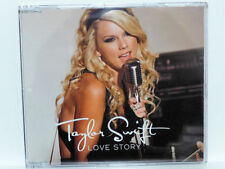TAYLOR SWIFT LOVE STORY ENHANCED CD SINGLE VIDEO