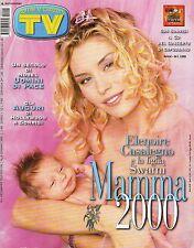 rivista TV SORRISI E CANZONI ANNO 2000 NUMERO 1 ELENOIRE CASALEGNO