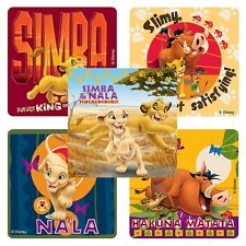 """30 Lion King Hakuna Matata Stickers, Assorted, 2.5""""x2.5"""" each, Party Favors"""